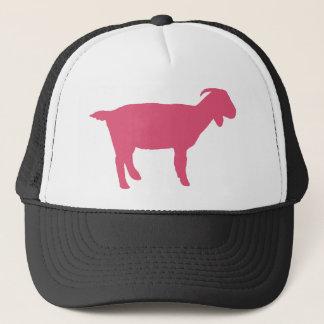 Boné Cabra cor-de-rosa