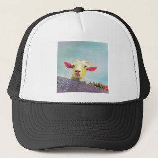 Boné cabra Cor-de-rosa-orelhuda