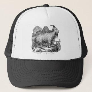 Boné Cabra de montanha rochosa americana das cabras dos