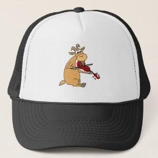 Boné Cabra engraçada que joga desenhos animados do