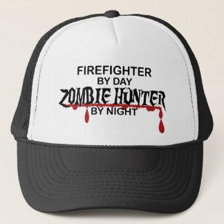 Boné Caçador do zombi do sapador-bombeiro