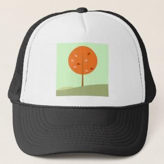 Boné Caçoa o t-shirt com laranja da árvore