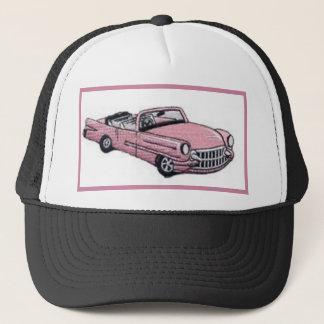 Boné Cadillac cor-de-rosa