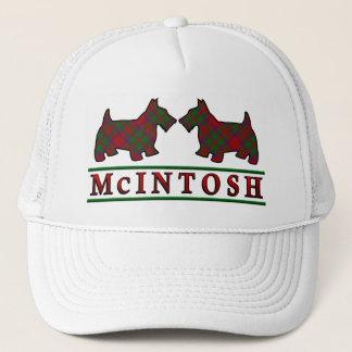 Boné Cães do Scottie do Tartan de McIntosh do clã