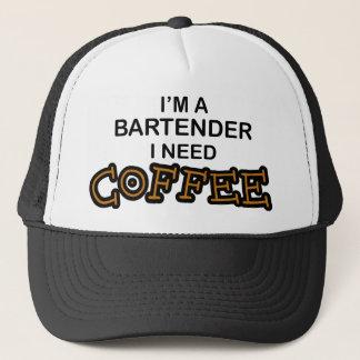 Boné Café da necessidade - barman