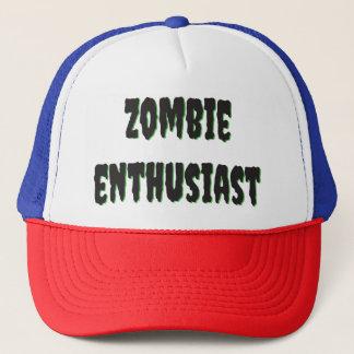 Boné Caixão do camionista do entusiasta do zombi
