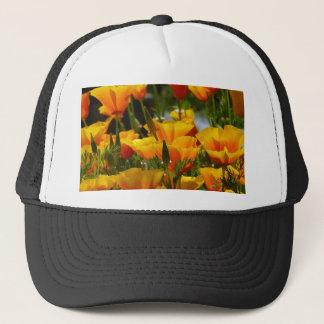 Boné Califórnia alaranjada Poppies_3.1