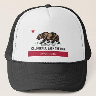 Boné Califórnia, despede o saco