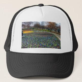 Boné Cama de flor do arboreto de Dallas e dos jardins