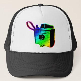 Boné câmera retro 2