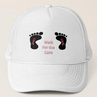 Boné Caminhada para a cura - chapéu