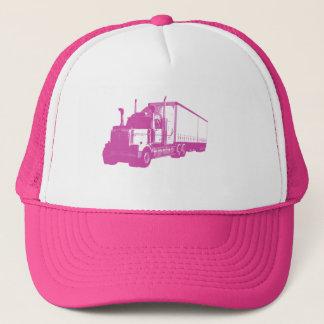 Boné Caminhão cor-de-rosa