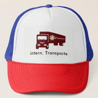 Boné Caminhão transporte Trucker touca de banho