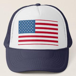 Boné camionista da americano-bandeira