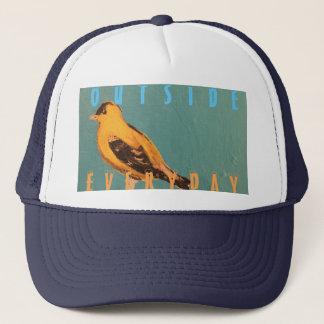 Boné Camionista diário exterior do pássaro