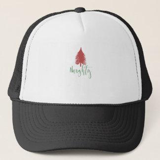 Boné Camisa impertinente do Natal - árvore de Natal
