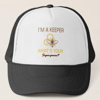 Boné Camiseta do depositário da abelha