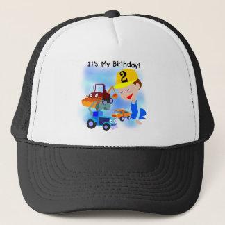 Boné Camiseta e presentes do segundo aniversário da