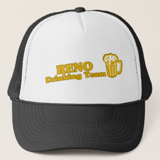 Boné Camisetas da equipe do bebendo de Reno