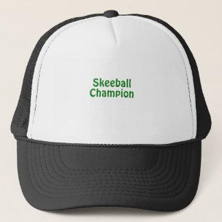Boné Campeão de Skeeball