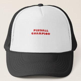 Boné Campeão do Pinball