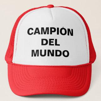 BONÉ CAMPEÓN DEL MUNDO