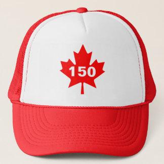 Boné Canadá 150 anos de aniversário um--um-amável