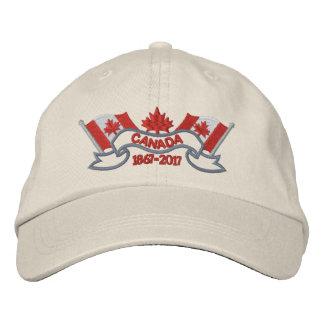 Boné Canadá embandeira o aniversário 150