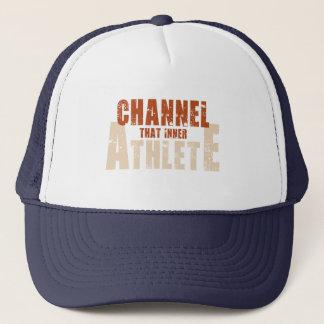 Boné Canalize esse chapéu interno do atleta