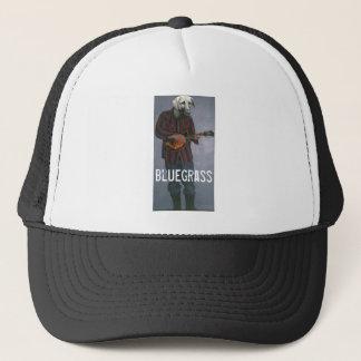 """Boné Cão do """"Bluegrass"""" - com o chapéu do camionista do"""