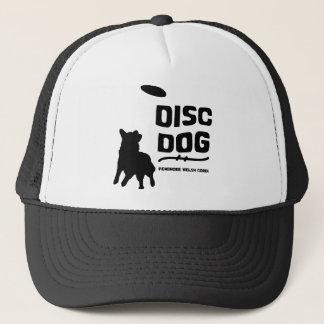 Boné Cão do disco do Corgi de Galês do Pembroke