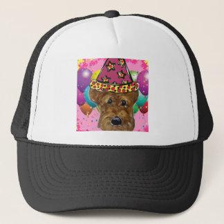 Boné Cão do partido de Airedale