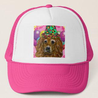 Boné Cão do partido do golden retriever