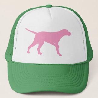 Boné Cão do ponteiro (no rosa)