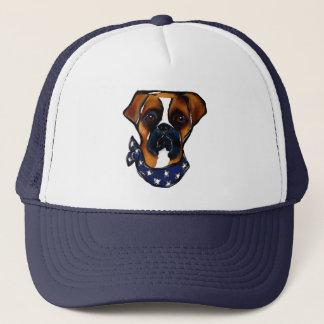 Boné Cão do pugilista 4o julho