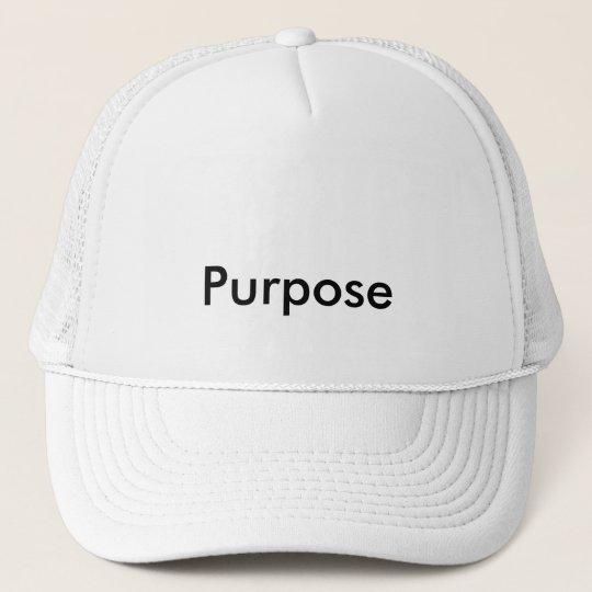Boné Cap purpose