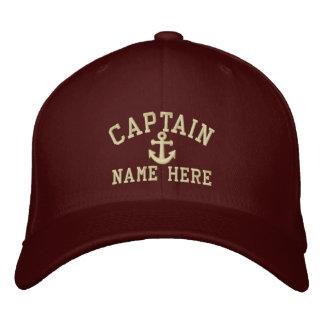 Boné Capitão - customizável