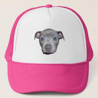 Boné Cara azul do filhote de cachorro de Staffordshire