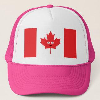 Boné Cara canadense da folha de bordo