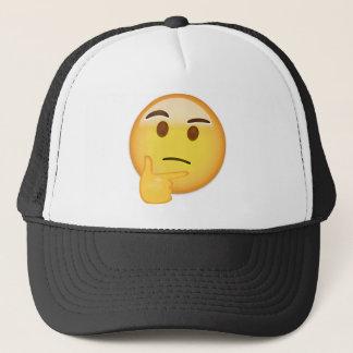 Boné Cara de pensamento Emoji
