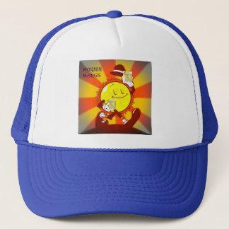 Boné Caracterização do chapéu do camionista ensolarada