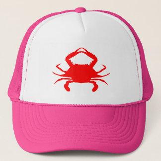 Boné Caranguejo vermelho