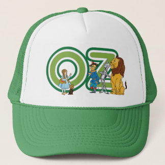 Boné Caráteres de mágico de Oz do vintage e letras do