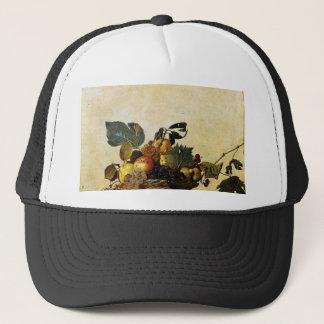 Boné Caravaggio - cesta da fruta - trabalhos de arte