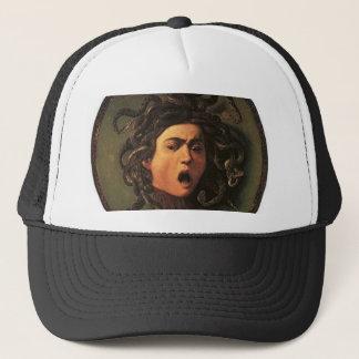 Boné Caravaggio - Medusa - trabalhos de arte italianos