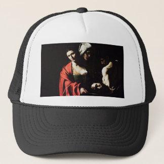 Boné Caravaggio - Salome - trabalhos de arte barrocos