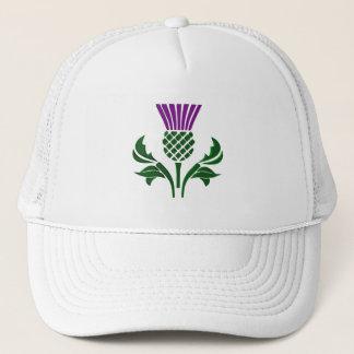 Boné Cardo escocês do emblema