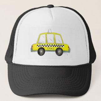 Boné Carro Checkered do táxi da Nova Iorque amarela do