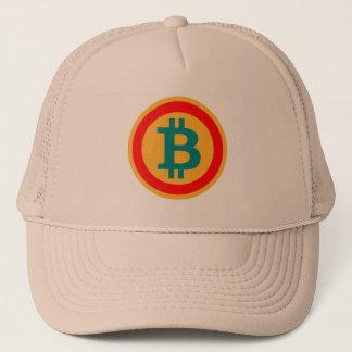 """boné carta B como """"bitcoin """""""
