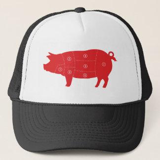 Boné Carta do porco do cozinheiro do cozinheiro chefe
